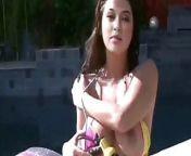 Hansika Motvani – nude bikini shoot at pool from www xxx hansika nude
