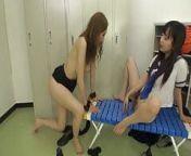Asian Schoolgirl Has Fun With Slave Teacher Lesbian from xxxvibeo