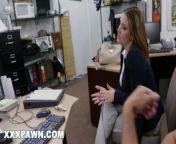 XXX PAWN - Some Guy's Wife Fucks A Stranger For $900 In A Dank Back Room from xxxjan