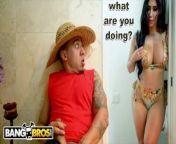 BANGBROS - Gardener Bruno Dickemz Fucks His Sexy Latin Client Valerie Kay from big hors garls xxxxxx sexy girl and anaconda milk sort vedeo download com
